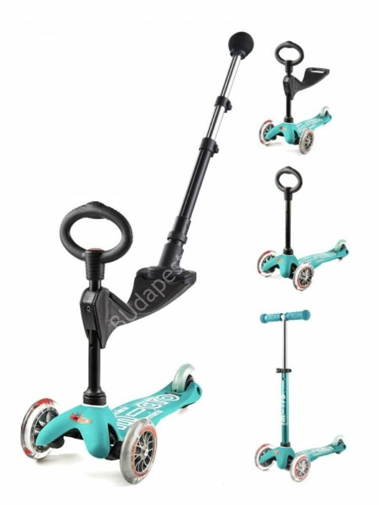 Image of 3in1 Mini Micro Deluxe Plus roller, aqua