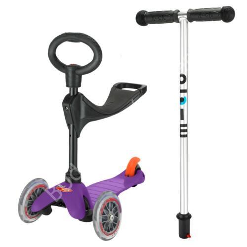3in1 Mini Micro roller, lila + 1990 Ft értékű Micro csengő ajándékba BEMUTATÓ DARAB