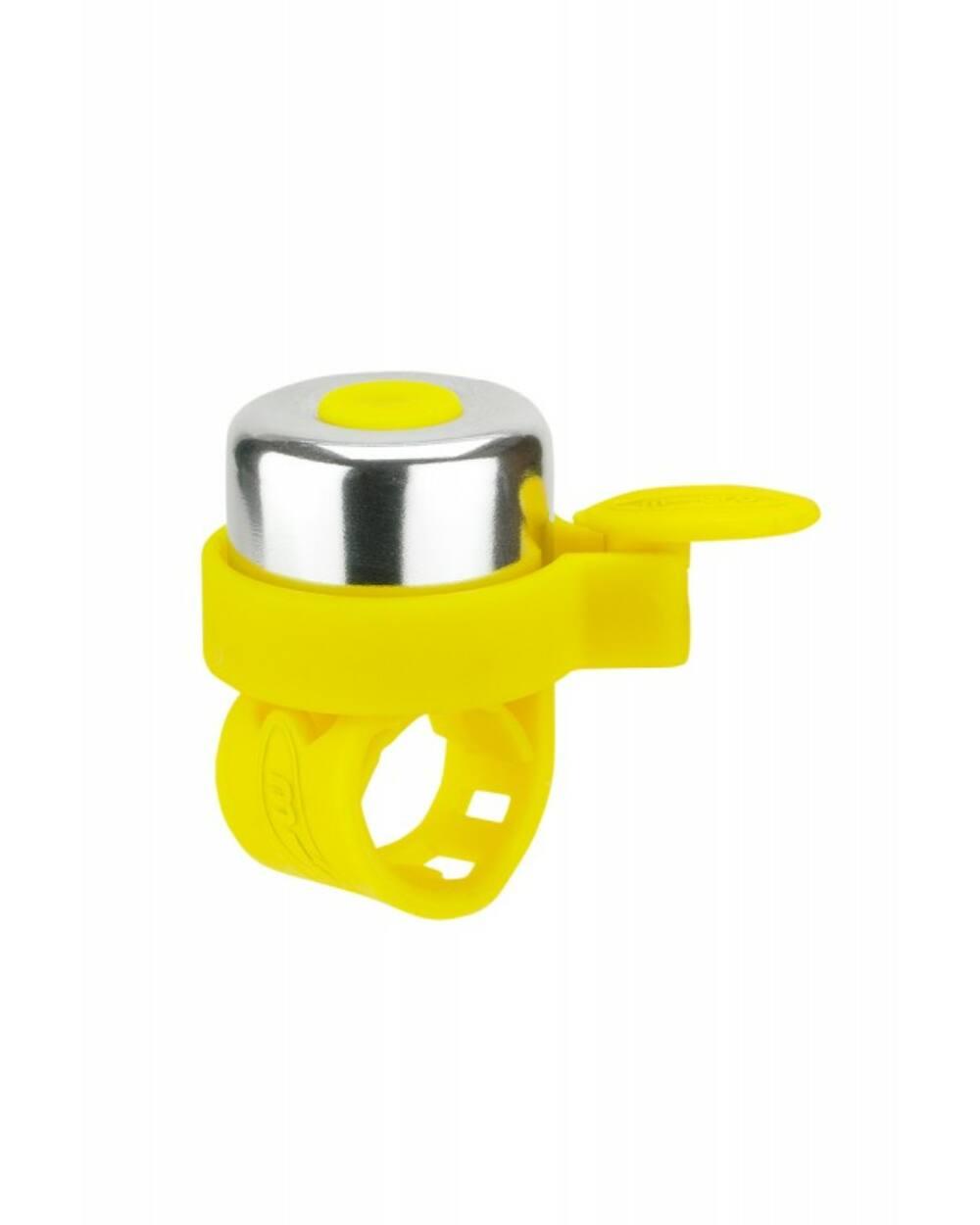 Micro roller csengő, neonsárga