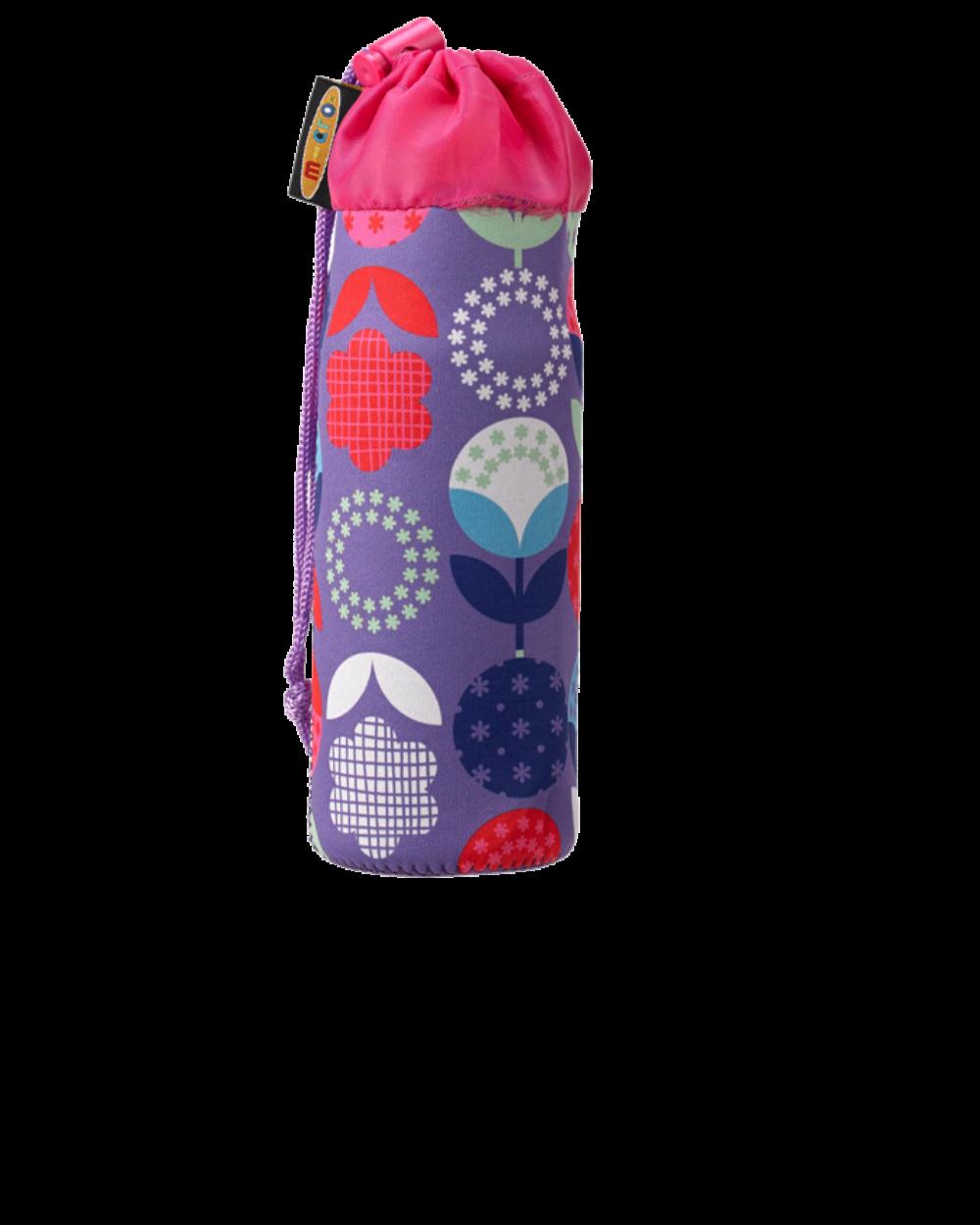 Micro roller kulacstartó, lila virágokkal