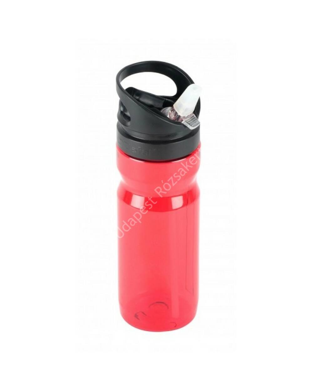 ZEFAL Kulacs TREKKING 700ml, átlátszó piros BPA-mentes