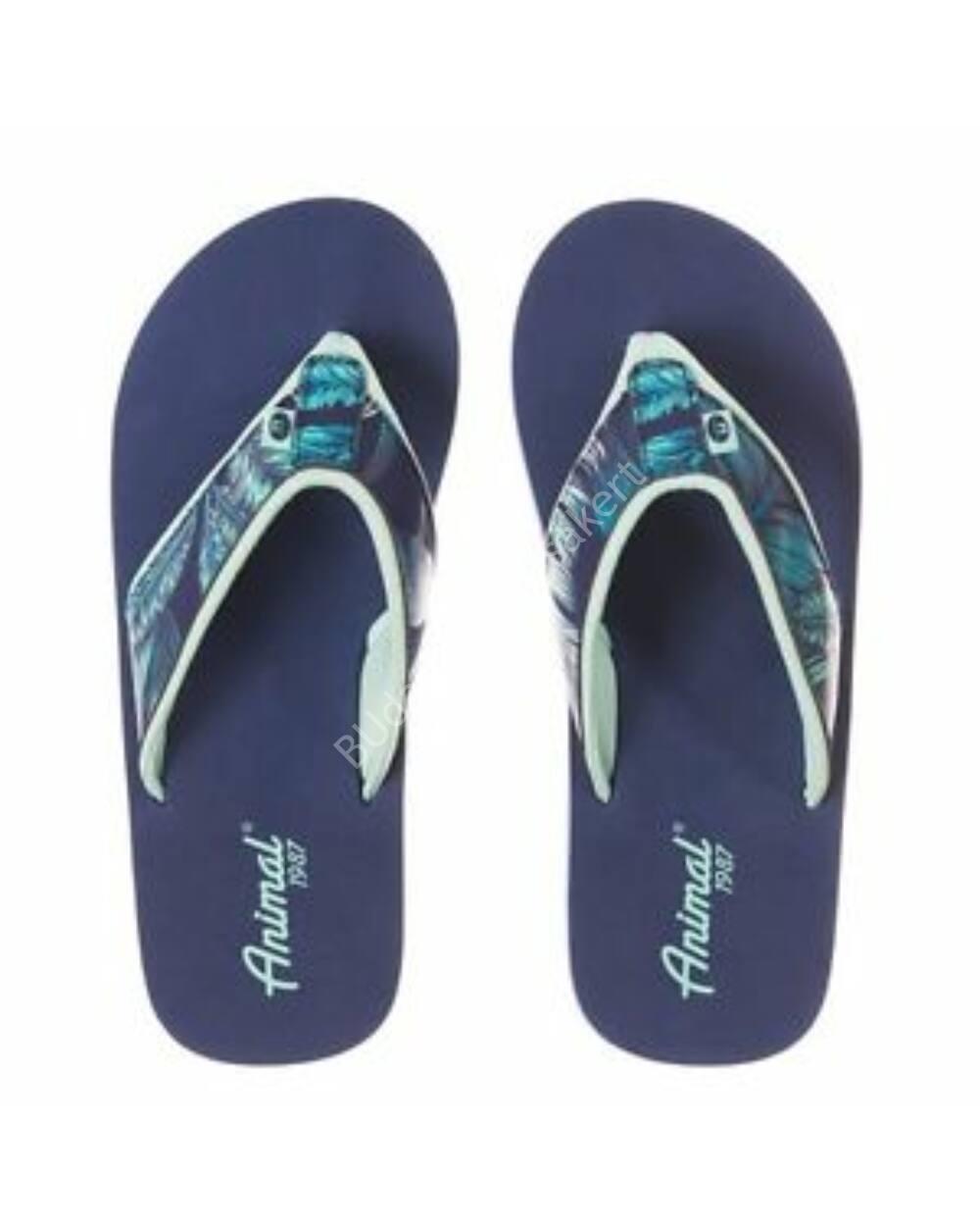 Animal Swish flip-flop papucs nőknek, kék
