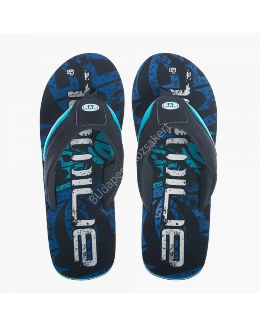 Animal Jekyl Logo flip-flop papucs férfiaknak, kék
