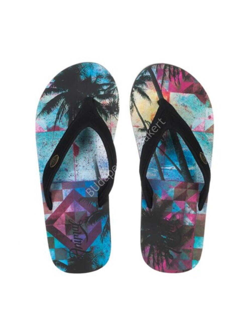 Animal Swish flip-flop papucs nőknek, fekete