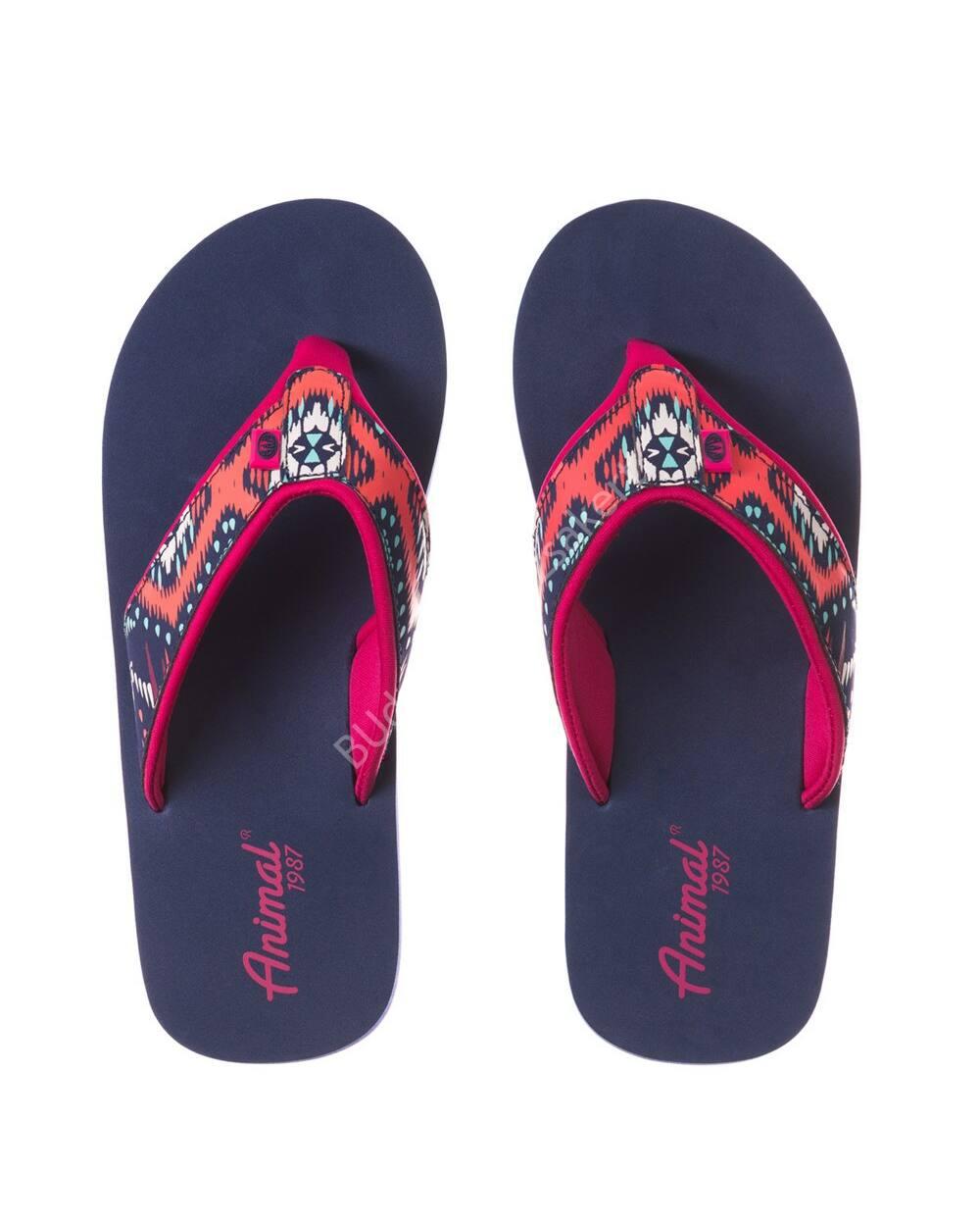 Animal Swish flip-flop papucs nőknek, lila