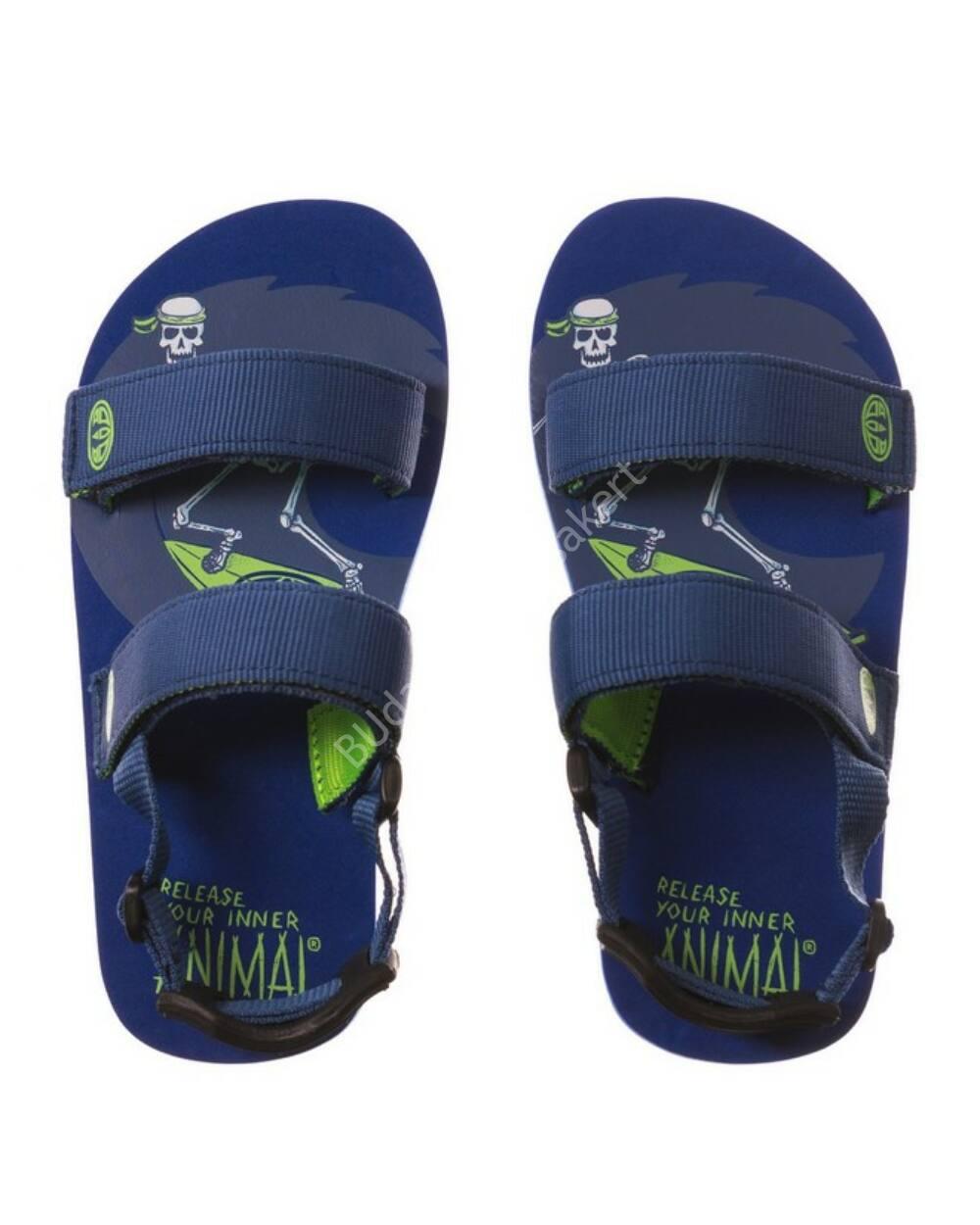 Animal Bodhy flip-flop szandál fiúknak, kék