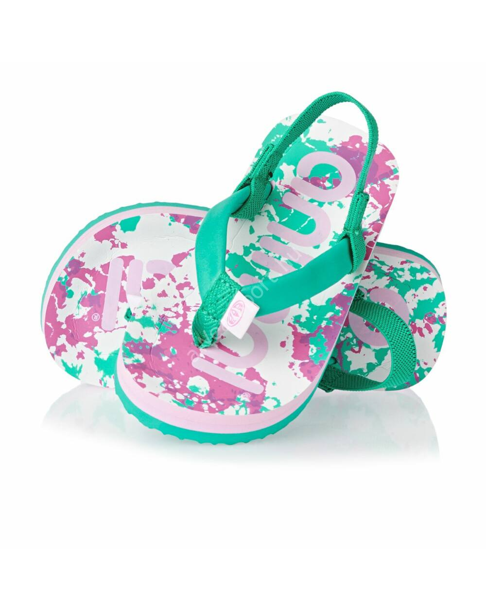 Animal Doodle flip-flop szandál, zöld, 28