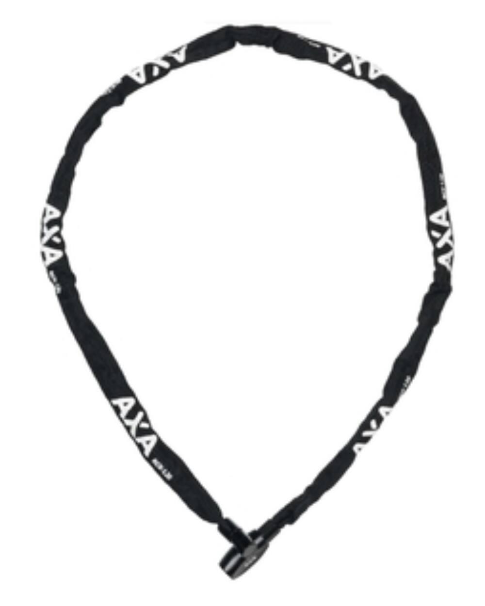 AXA Rigid RCC kulcsos láncos kerékpár lakat 120cm, fekete