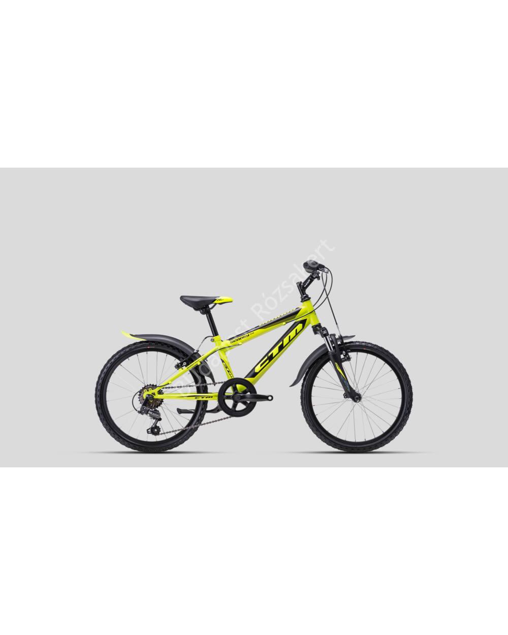 "CTM 20"" Scooby 3.0 6S neonsárga-fekete, 11.5 kg"