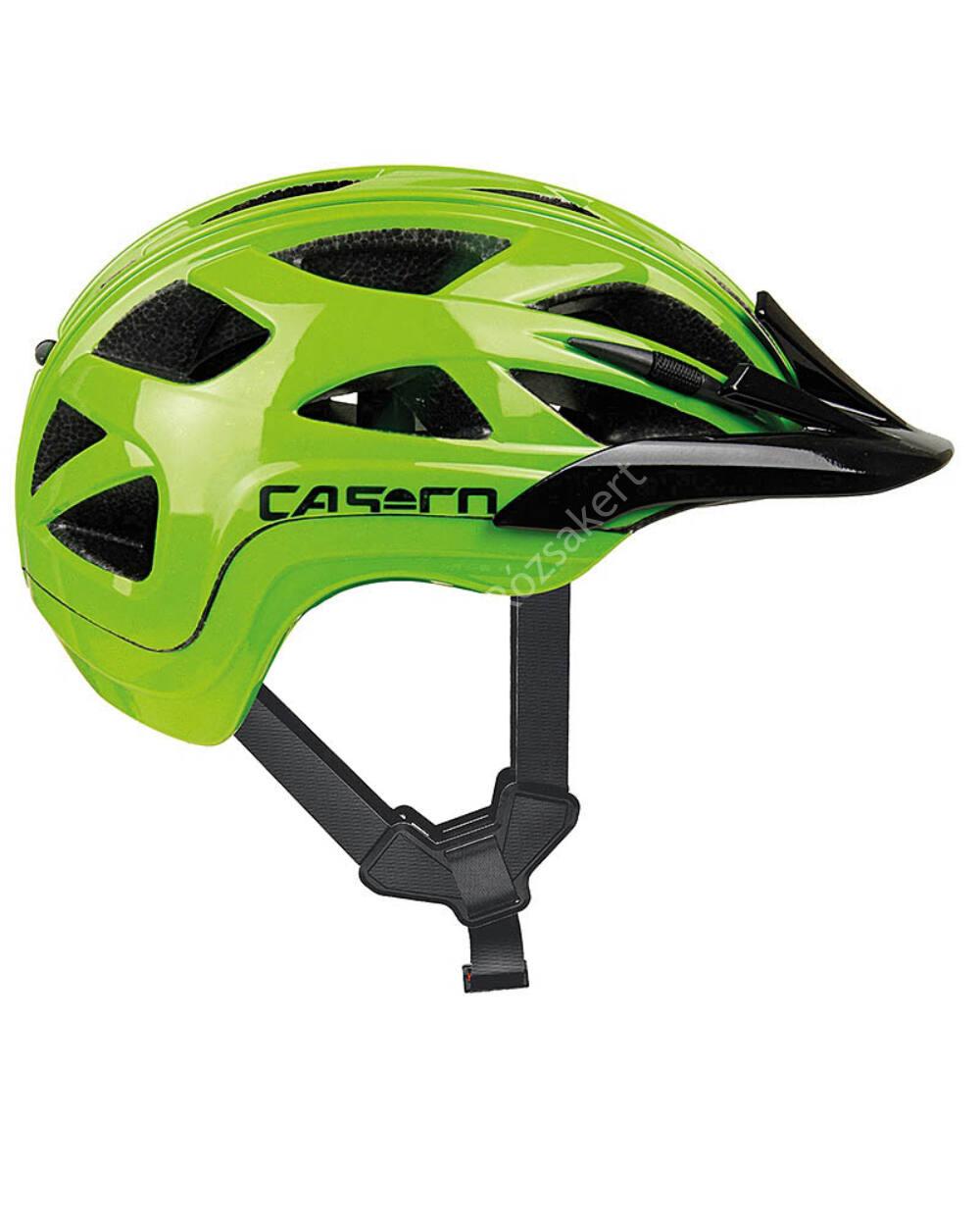 Casco Activ 2 Junior bukósisak, 52-56cm, zöld