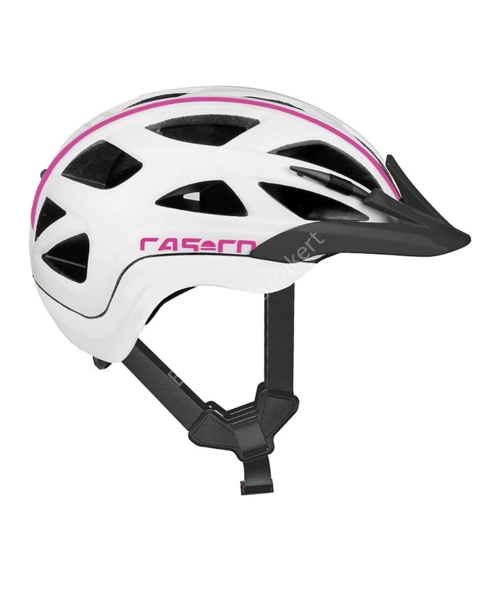 Casco Activ 2 Junior bukósisak, 52-56cm, fehér-pink