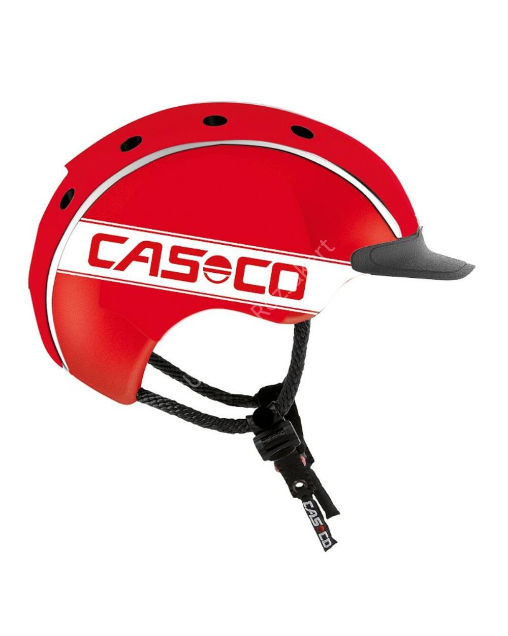 Casco Mini 2 Red bukósisak, piros, 52-56cm
