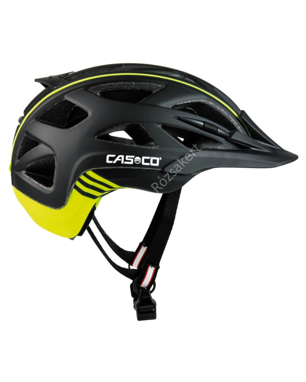 Casco Activ 2 black-neon bukósisak, 52-56 cm