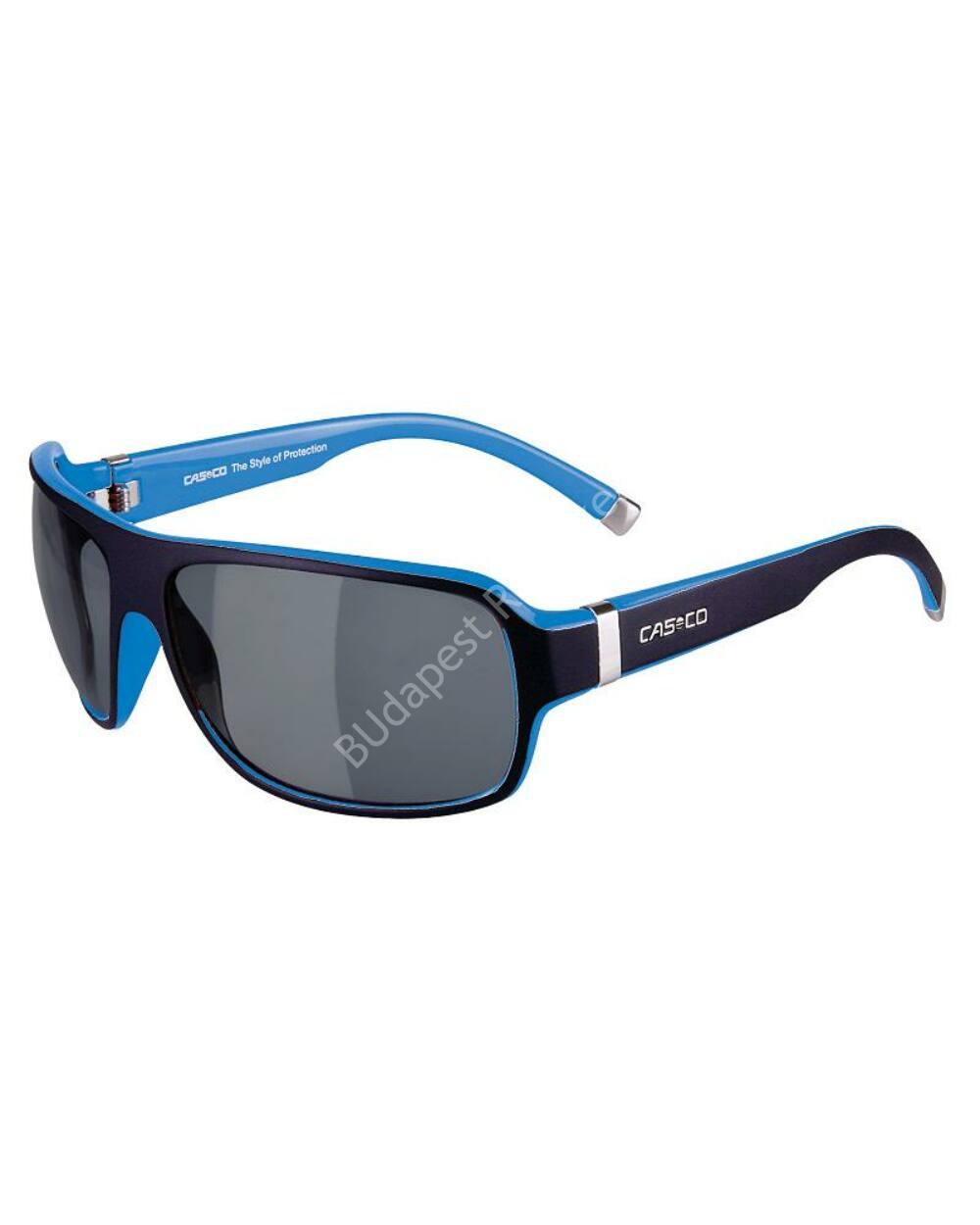 Casco SX-61 Carbonic Bicolor UV-védős sportszemüveg, fekete-kék
