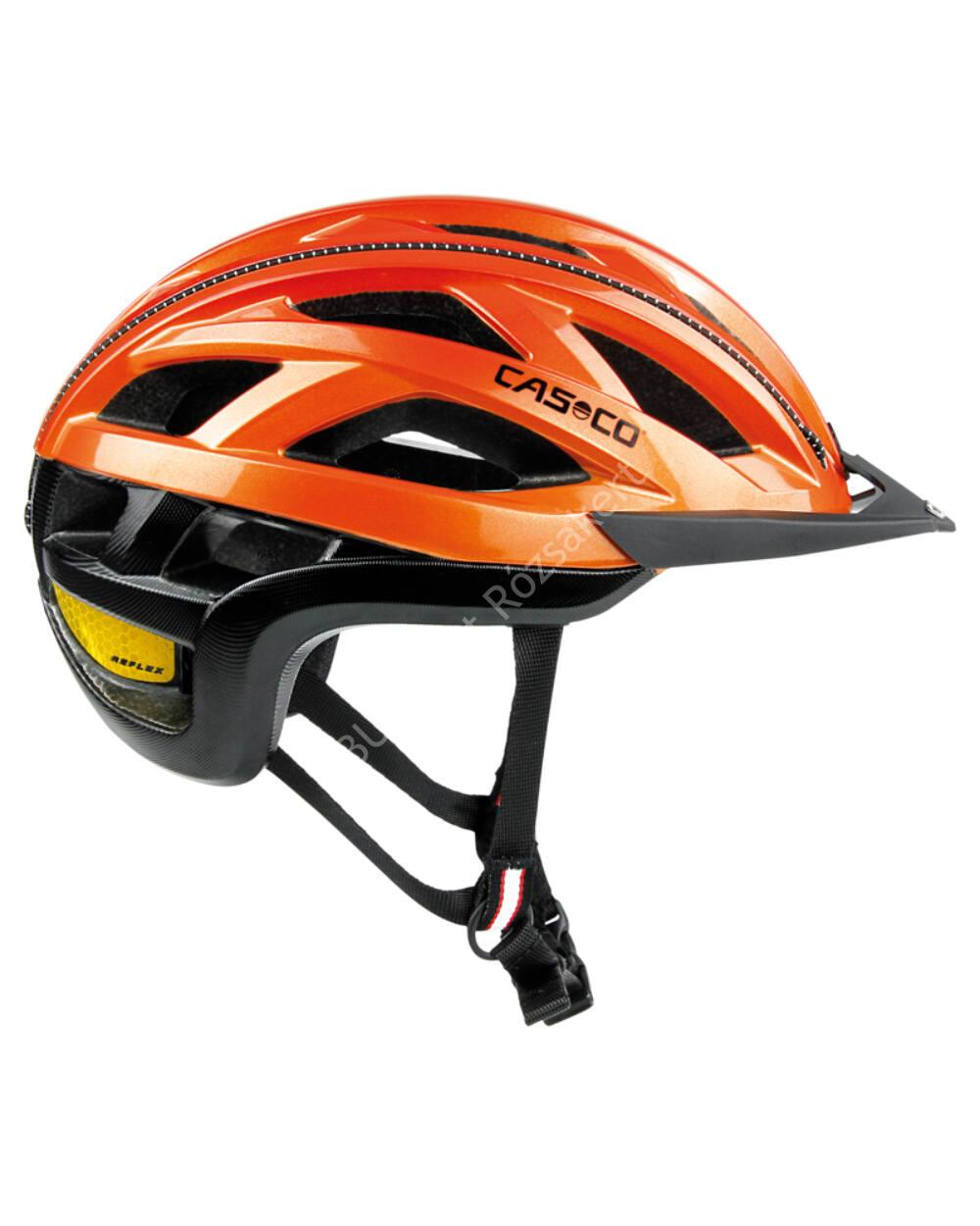 Casco Cuda 2 orange shiny bukósisak, 59-62 cm