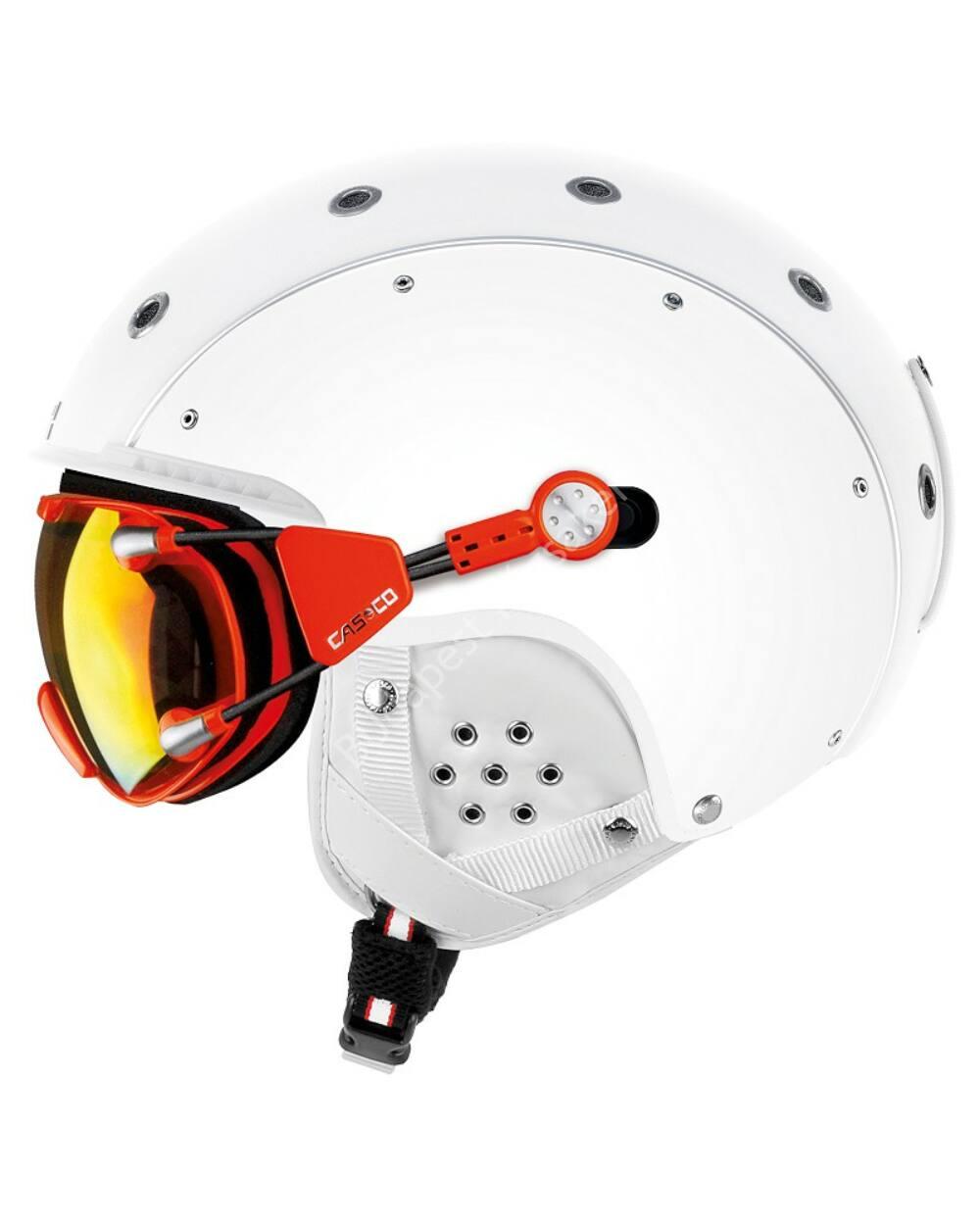 Casco SP-3 Airwolf sísisak, fehér, 56-58cm (szemüveg nélkül)