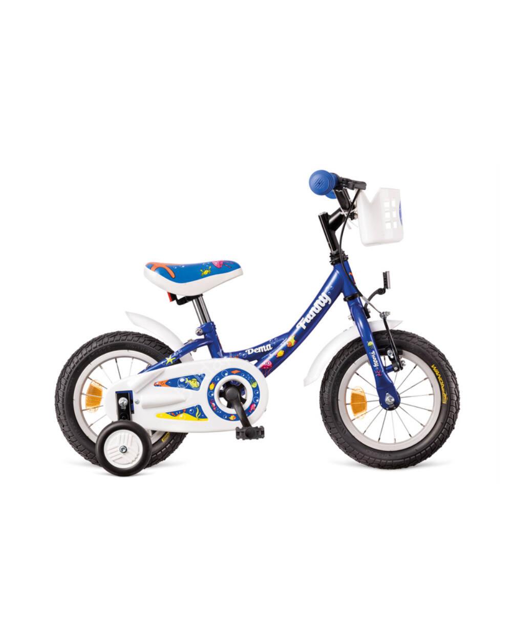 DEMA Funny 12 gyermek kerékpár, kék