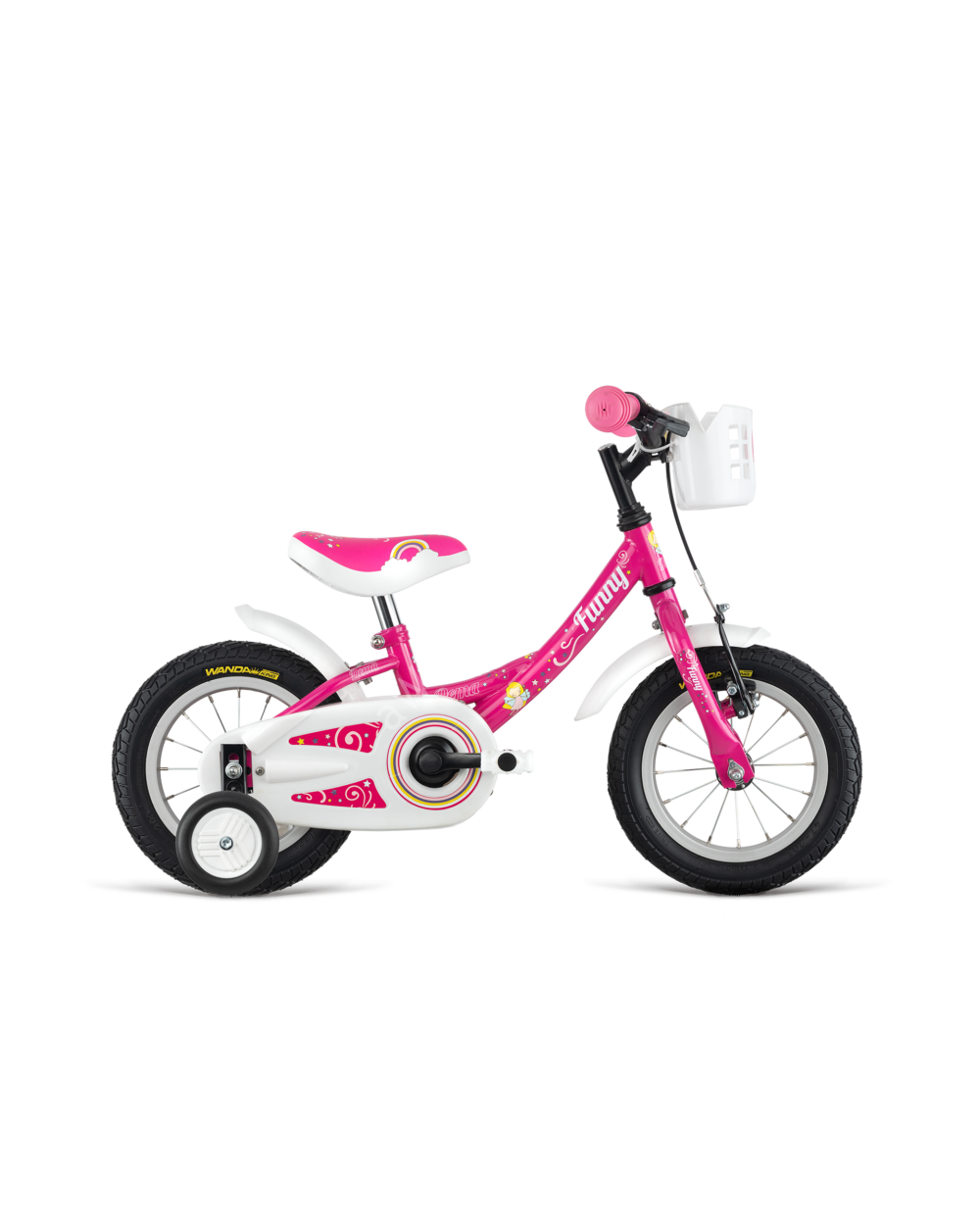 DEMA Funny 12 pink, 90-105 cm testmagasság, 8.1 kg