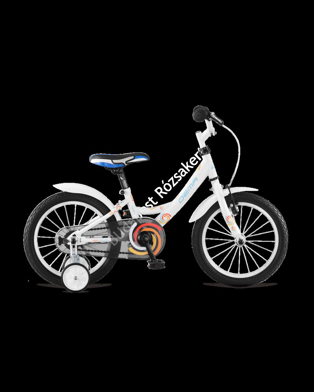DEMA Aggy 16 gyermek kerékpár, fehér 95-115 cm testmagasság, 9,1 kg