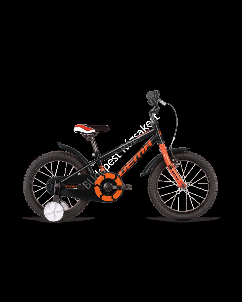 """DEMA Rockie 16"""" fekete-narancs, 95-115 cm testmagasság, 10.1 kg"""