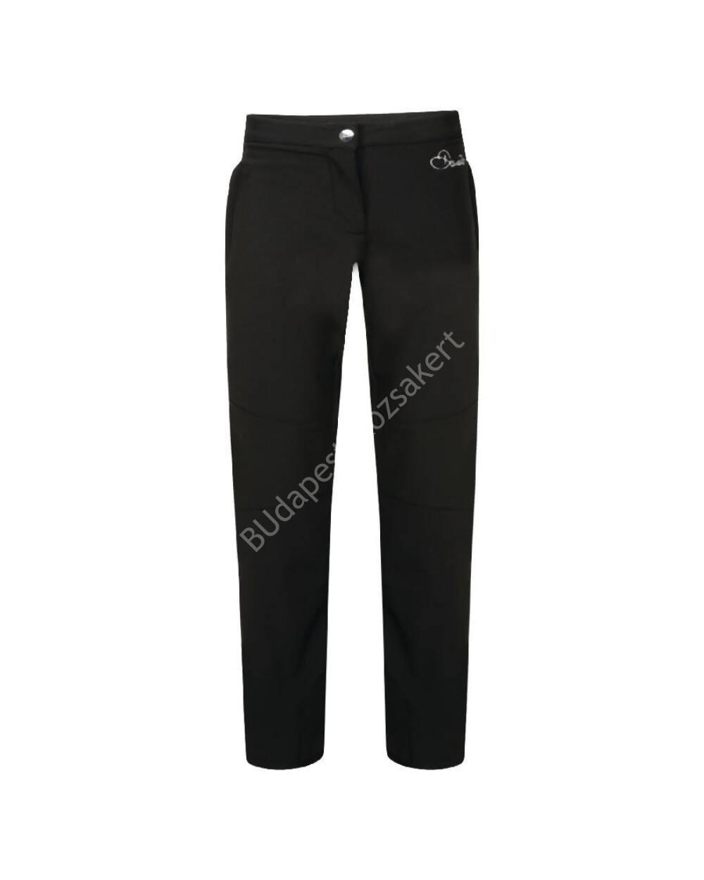 Dare2b Regard Trouser junior softshell sínadrág 10.000mm, fekete