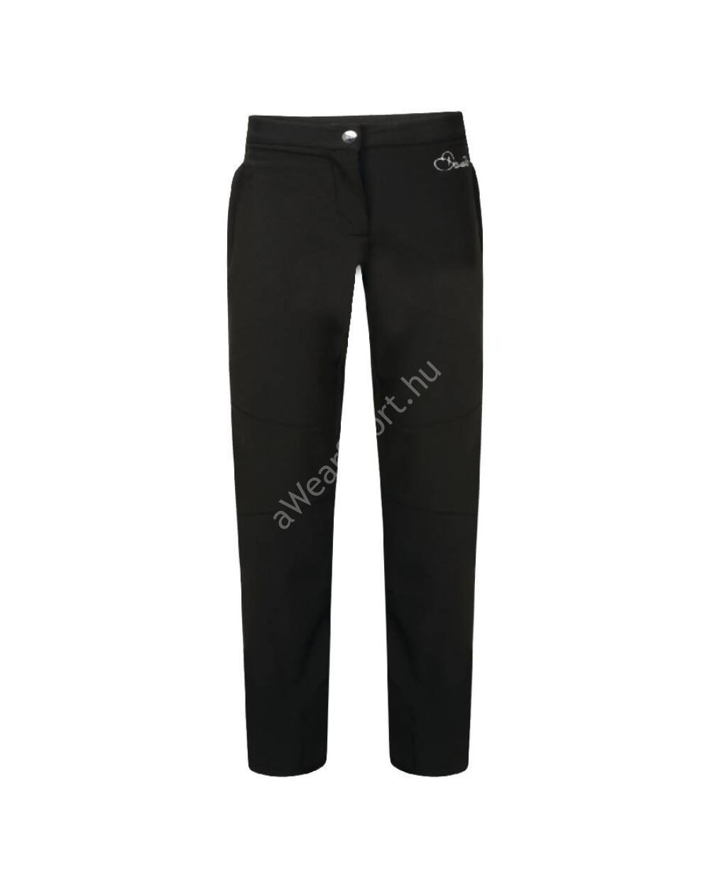 Dare2b Regard Trouser junior softshell sínadrág 10.000mm, fekete