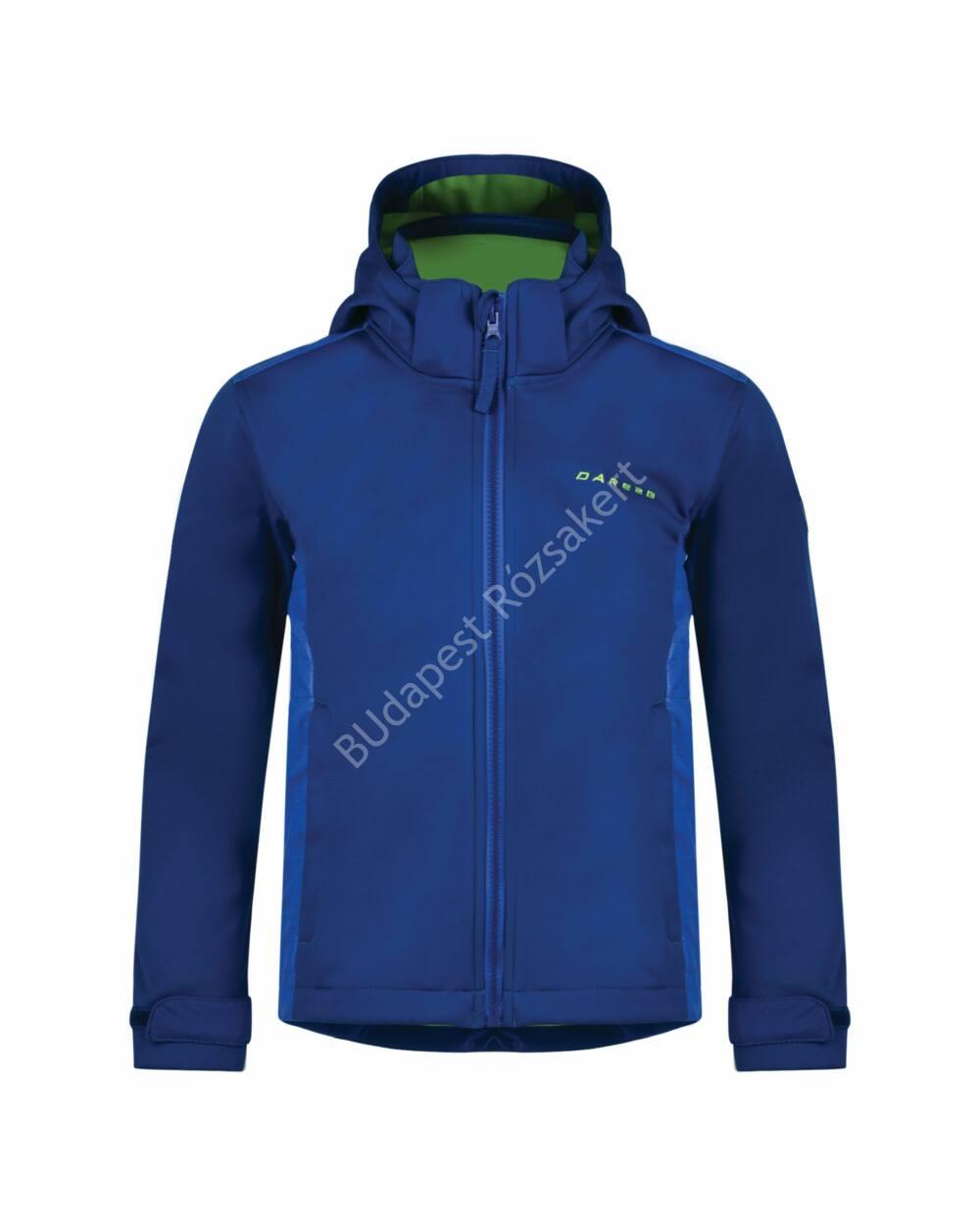 Dare2b Unravelled softshell gyermek kabát, kék, 104