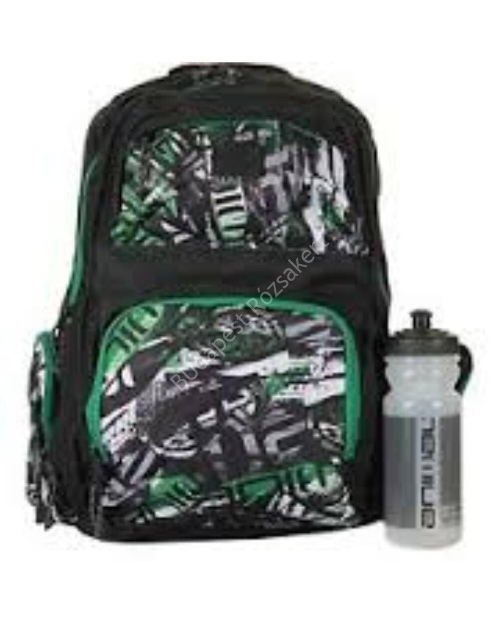 Animal Spray School fiú hátizsák  kulaccsal, 25,5L