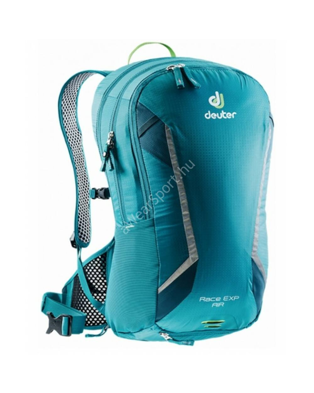 Deuter Race Exp Air 14+3L, 890g, petrol-arctic
