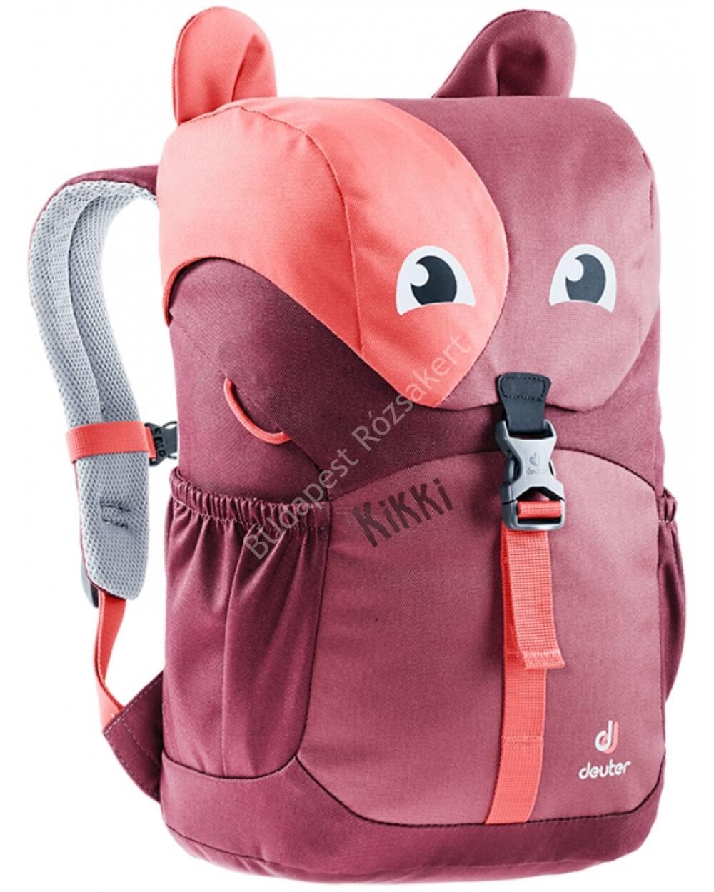Deuter Kikki gyerek hátizsák 8L, magenta-blackberry