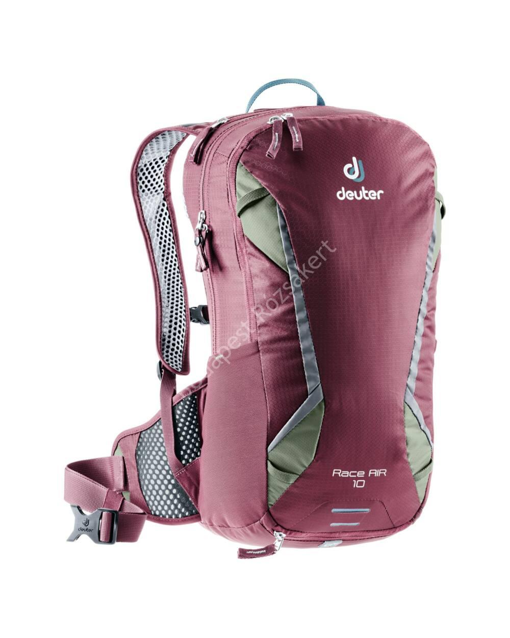 Deuter Race AIR 10 L hátizsák, 800g, maron-khaki