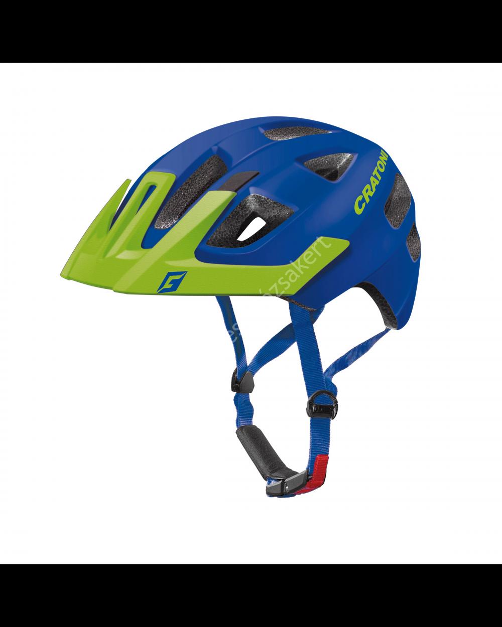 Cratoni Maxster Pro gyermek bukósisak, kék-zöld, 46-51 cm