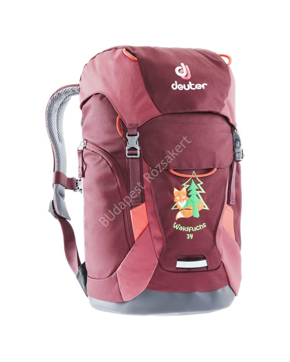 Deuter Waldfuchs gyermek hátizsák 14L, maron-cardinal