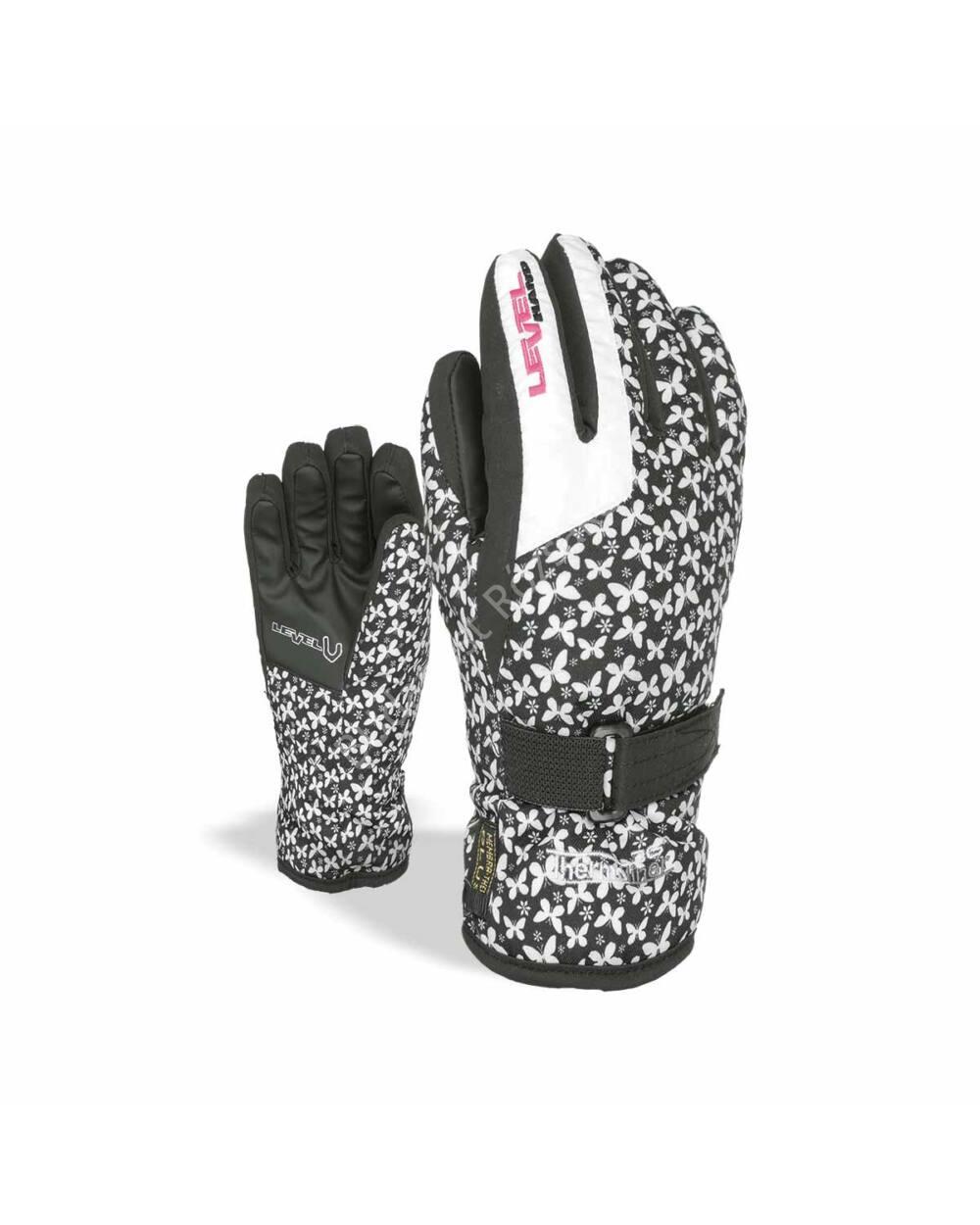 Level Glove junior síkesztyű, white, 5-6 éves