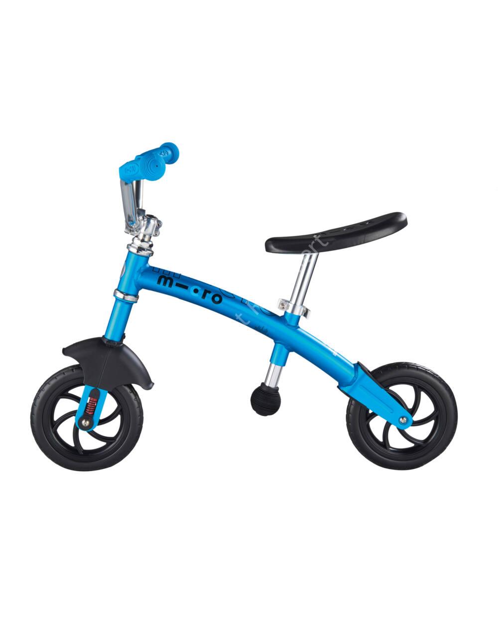 Micro 2in1 G-Bike Chopper Deluxe futóbicikli, kék