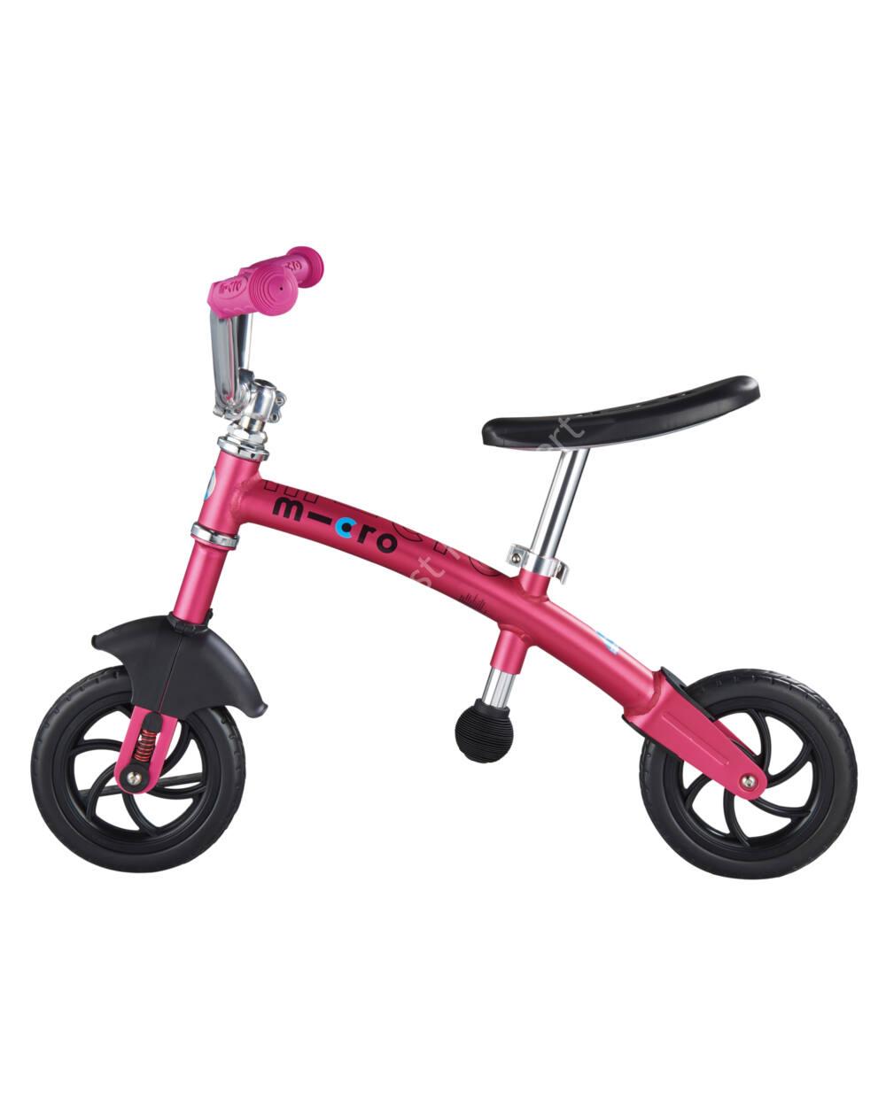 Micro 2in1 G-Bike Chopper Deluxe futóbicikli, pink