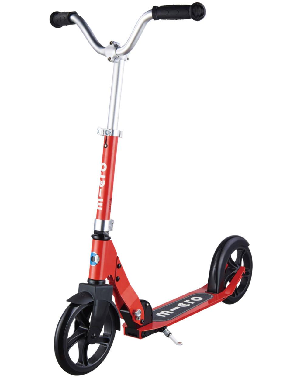 Micro Cruiser junior roller 200 mm-es kerékkel, piros