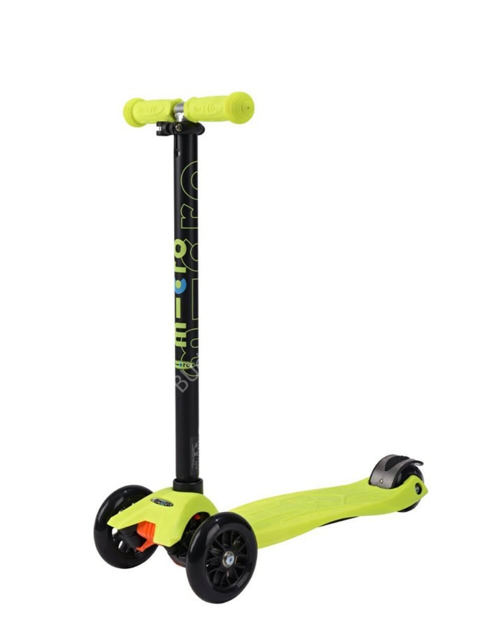 Maxi Micro roller, neonsárga+ 3990 Ft értékű kulacstartó ajándékba