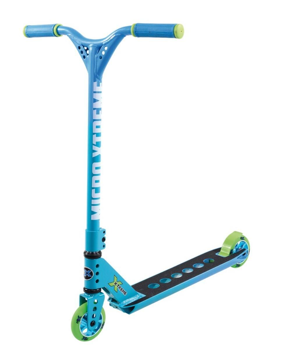 Micro mX trixx 2.0 Rainbow Blue extrém roller
