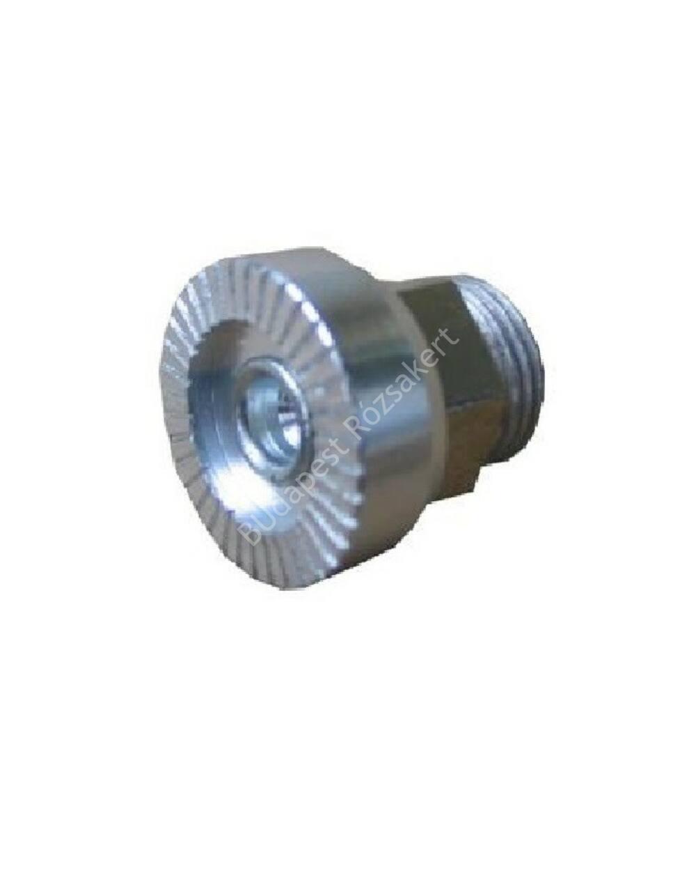 Micro biztonsági gomb, ezüst
