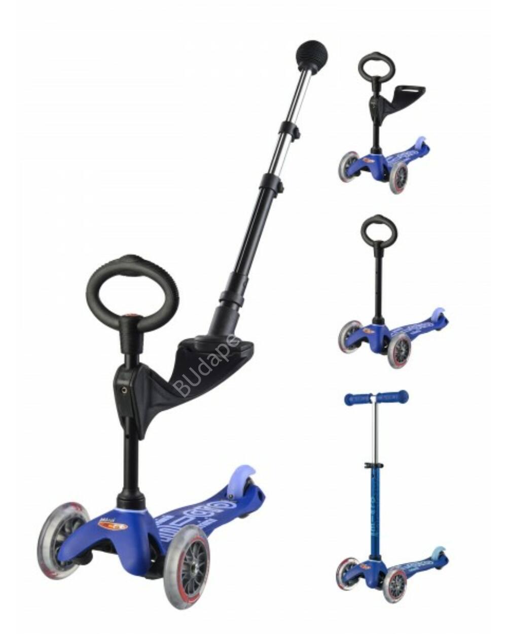 3in1 Mini Micro Deluxe Plus roller, kék