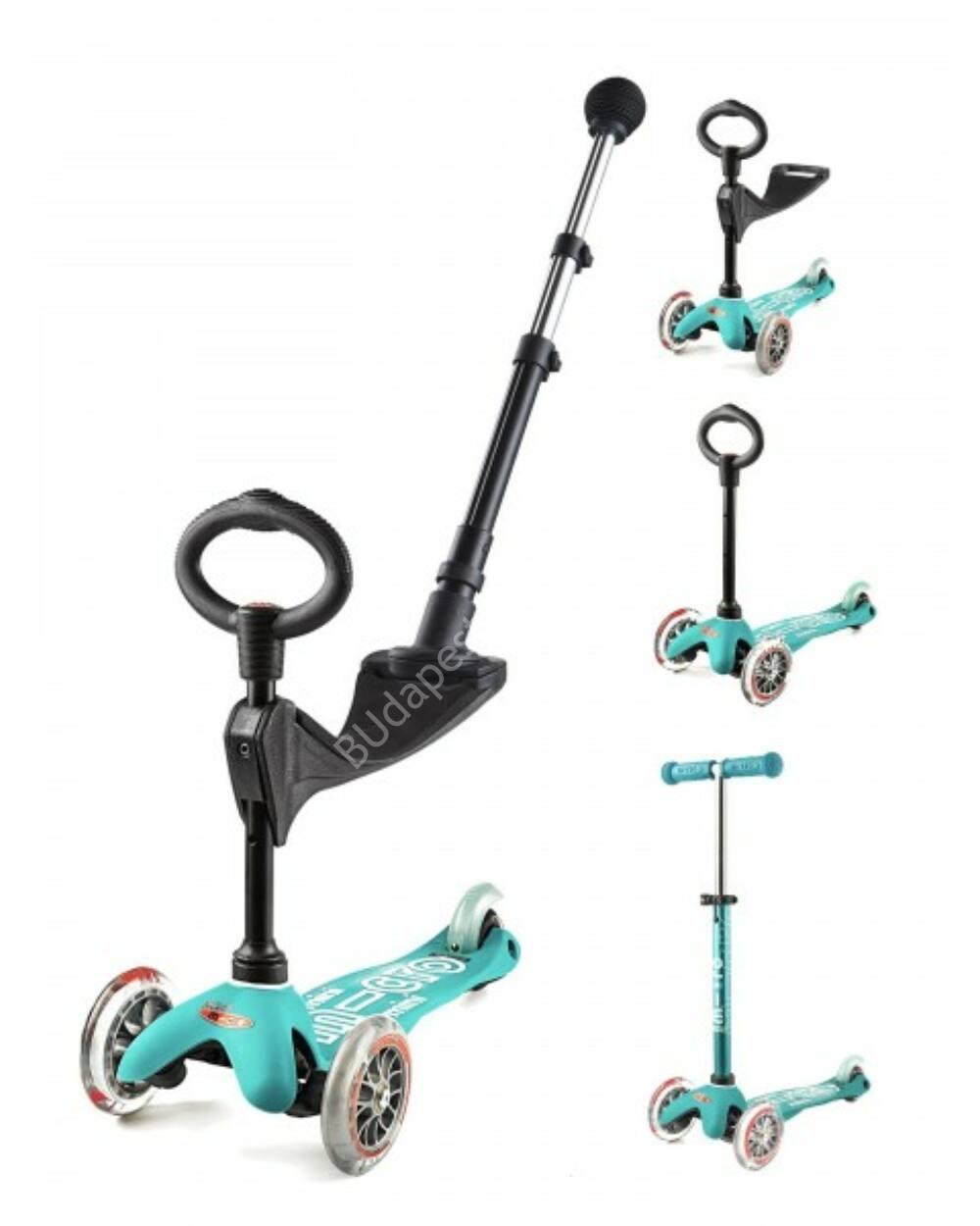 3in1 Mini Micro Deluxe Plus roller, aqua