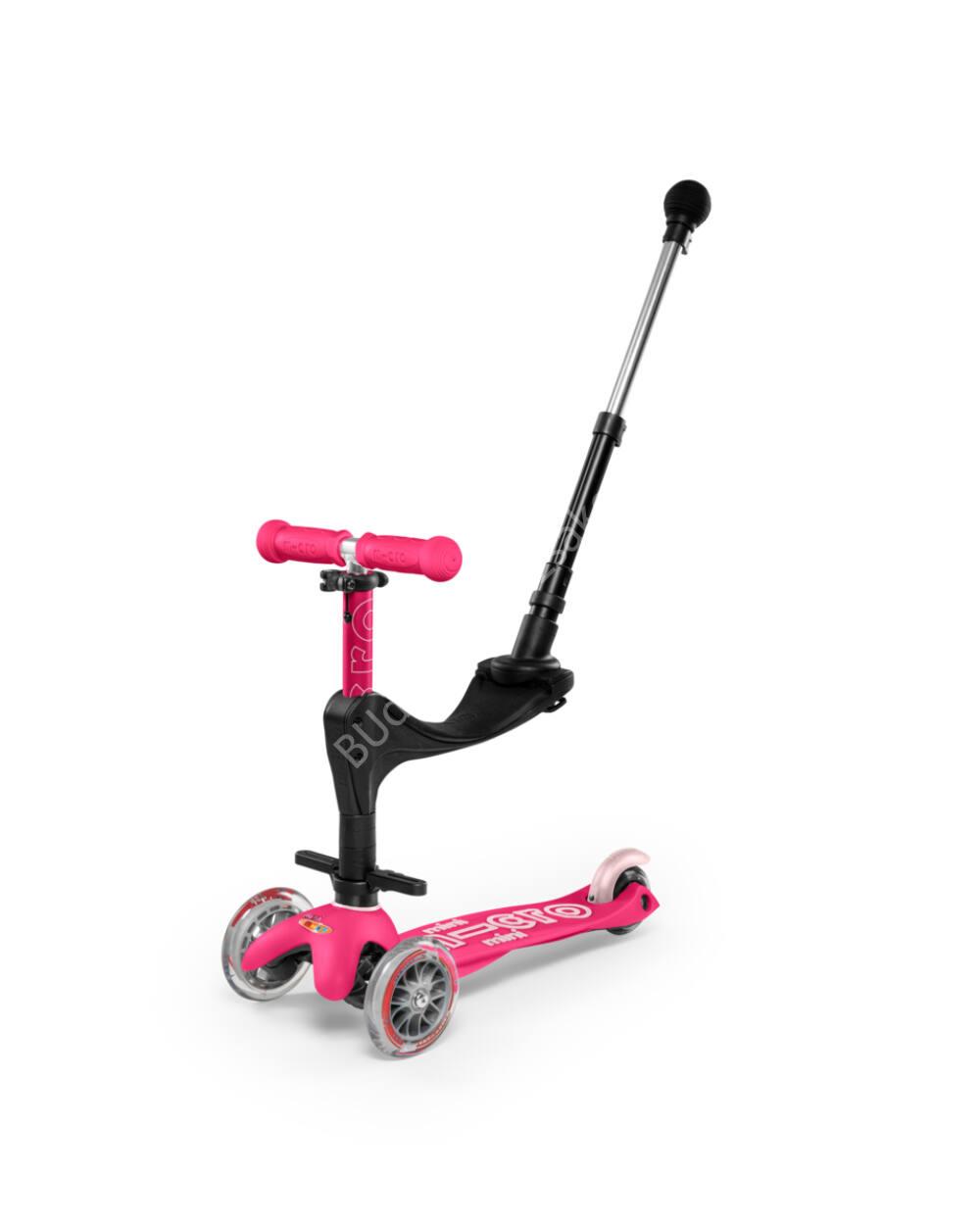 3in1 Mini Micro Deluxe Plus roller, pink