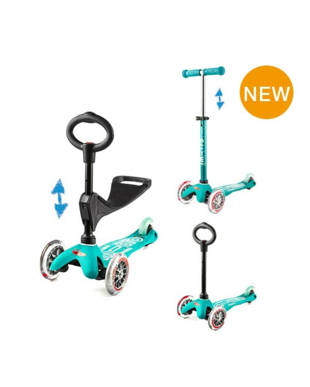 3in1 Mini Micro Deluxe roller, aqua