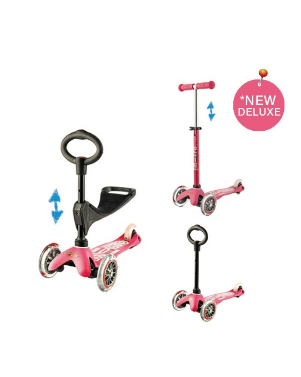 3in1 Mini Micro Deluxe roller, pink
