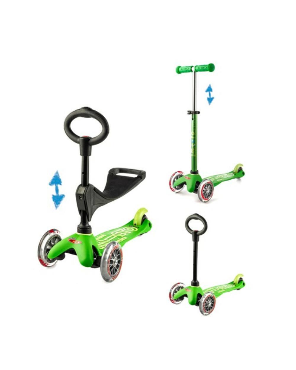 3in1 Mini Micro Deluxe roller, zöld