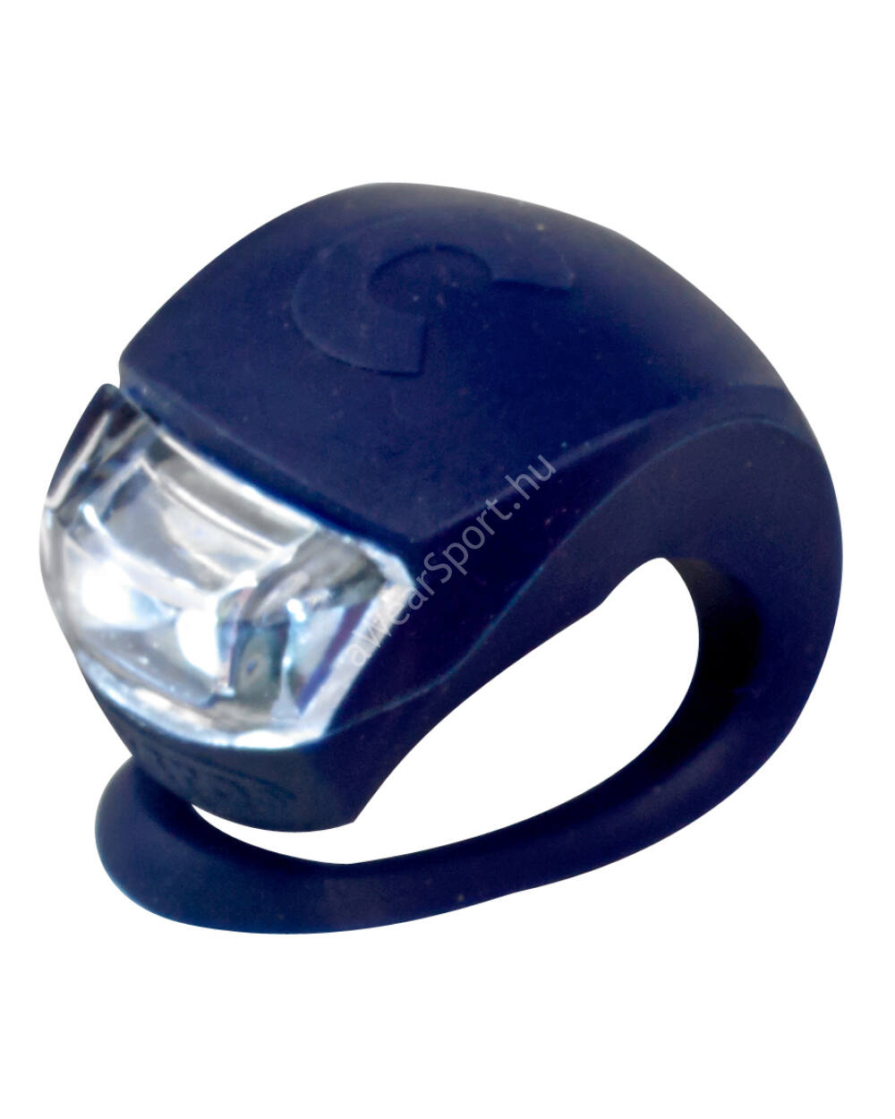 Micro szilikon első lámpa, sötétkék