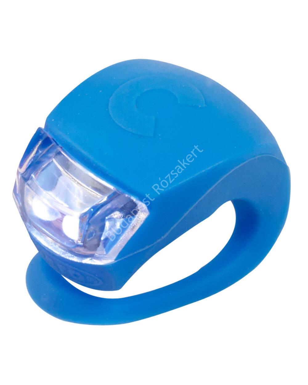 Micro szilikon első lámpa, neonkék