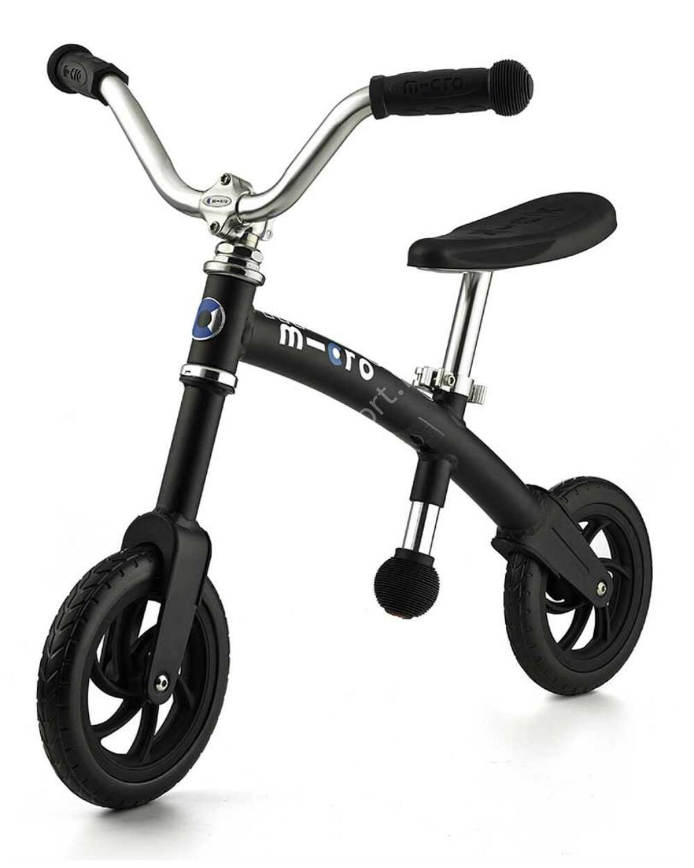 G-Bike Micro Chopper futóbicikli, fekete