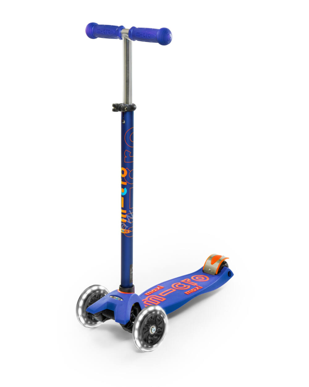 Maxi Micro Deluxe LED roller, kék